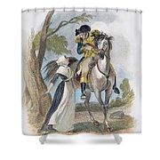 Lydia Darrah, 1777 Shower Curtain by Granger
