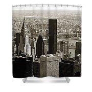 Manhattan  Shower Curtain
