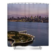 Manhattan Sunrise Shower Curtain