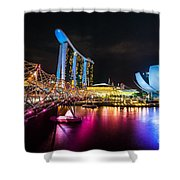Marina  Bay Sands - Singapore Shower Curtain