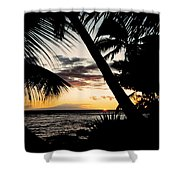 Maui Sunset Shower Curtain