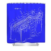 Medical Examining Table Patent 1974 Shower Curtain