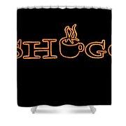 Meshuggah Cafe' Shower Curtain