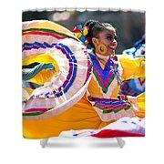 Mexican Folk Dancers Shower Curtain