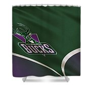 Milwaukee Bucks Uniform Shower Curtain