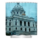 Minnesota State Capitol Shower Curtain