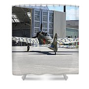 Mitsubishi A6m3-22 Reisen Zero Shower Curtain
