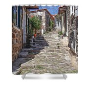 Molyvos Shower Curtain