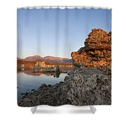 Mono Lake California Shower Curtain by Jason O Watson