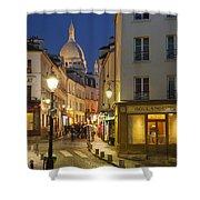 Montmartre Twilight Shower Curtain