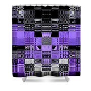 Motility Series 6 Shower Curtain