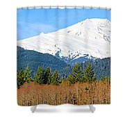 Mount Baker Shower Curtain