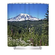 Mount Ranier Shower Curtain