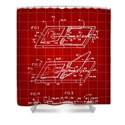 Mouse Trap Patent - Red Shower Curtain