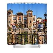 Mudejar Pavilion In Seville Shower Curtain