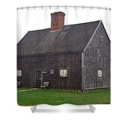 Nantucket's Oldest House Shower Curtain