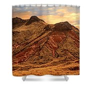 Navajo Nation Series Along 87 And 15 Shower Curtain