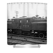 New York Central Railroad Shower Curtain