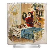 Night Before Christmas Shower Curtain
