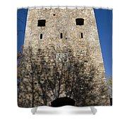 Old Sigulda Castle Ruins Shower Curtain