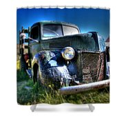 Old Truck At Bodie Shower Curtain
