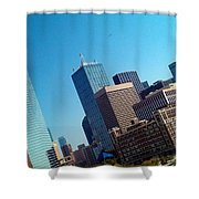 Omni Infinity Pool View Shower Curtain