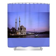 Ortakoy Mosque Shower Curtain
