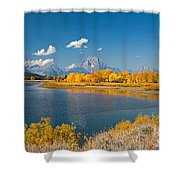 Oxbow Bend Grand Teton National Park Shower Curtain