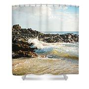 Paako Beach Makena Maui Hawaii Shower Curtain
