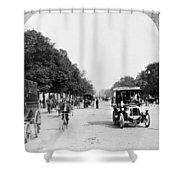 Paris Champs Elysees Shower Curtain