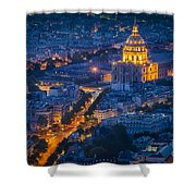 Paris Overhead Shower Curtain