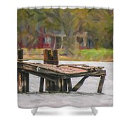 Passage Of Time Shower Curtain