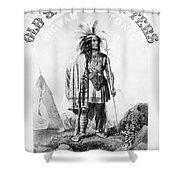 Patent Medicine Poster Shower Curtain