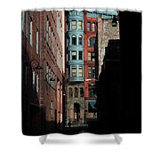 Pioneer Square Alleyway Shower Curtain
