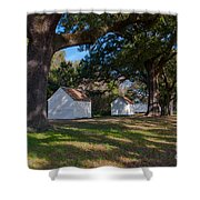 Plantation Cabins Shower Curtain