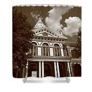 Pontiac Illinois - Courthouse Shower Curtain