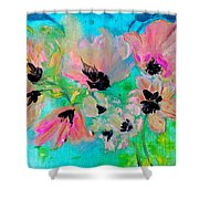 Poppies In Situ Shower Curtain