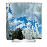 Portland Oregon Lds Temple Shower Curtain