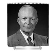 President Dwight Eisenhower - Four Shower Curtain