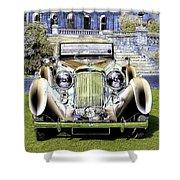Psychedelic Classic Lagonda Shower Curtain