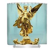 Queen Victoria Memorial In London Shower Curtain