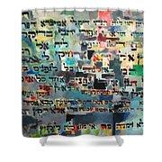 Rabba Bar Rav Hanan Shower Curtain