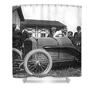 Race Car, 1914 Shower Curtain