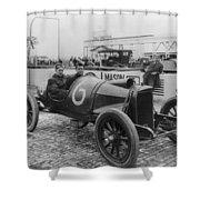 Racecar Drivers, C1913 Shower Curtain