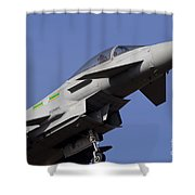Raf Typhoon Shower Curtain