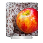 Red And Yellow Apple Shower Curtain