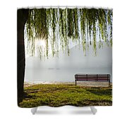 Relax Shower Curtain