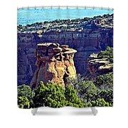 Rim Rock Colorado Shower Curtain