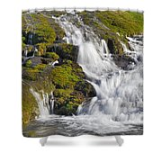 River San Juan  Shower Curtain