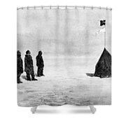 Roald Amundsen (1872-1928) Shower Curtain